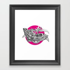 MOTH Framed Art Print