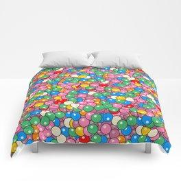 Bubble Gum Balls Juicy Tropical Fruity Comforters