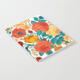 Vintage flower garden Notebook