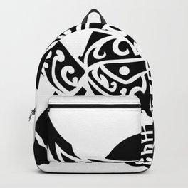 Samurai Mask Hannya Backpack