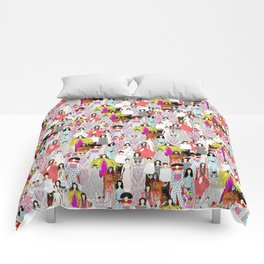 Bjork-A-thon Comforters