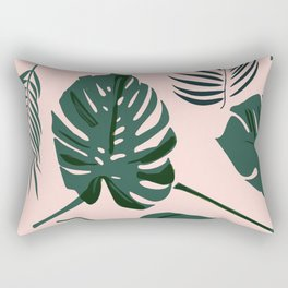 Tropical palm Rectangular Pillow