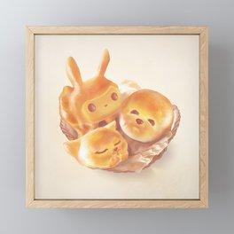 The Soul of the Bread Framed Mini Art Print
