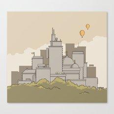 Moore's Big City Canvas Print