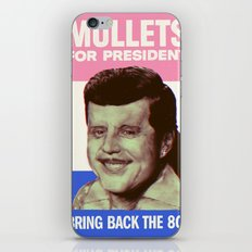 Mullets for president iPhone & iPod Skin