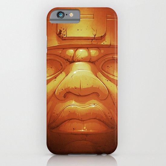 Olmeca II. (Gold) iPhone & iPod Case