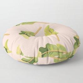 Tropical '17 - Solar [Banana Leaves] Floor Pillow