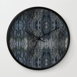Reeds in a Pond Wall Clock