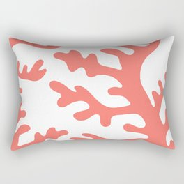 LIVING CORAL Rectangular Pillow