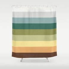 His Spring Shower Curtain