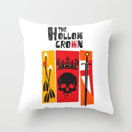 The Hollow Crown (Color Variant 2) Throw Pillow
