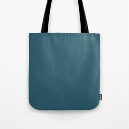 Teal The World (Blue) Tote Bag