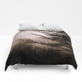Foggy day Comforters