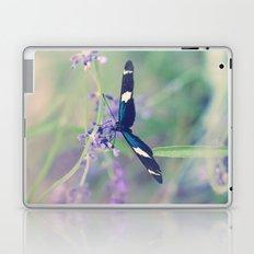 Blue Garden Butterfly Laptop & iPad Skin