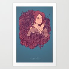 Inevitable Decay Art Print