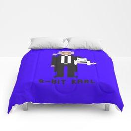 8 Bit Karl Comforters