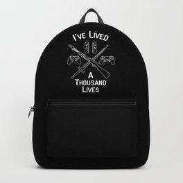 Gamer Lives Backpack