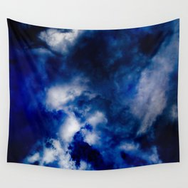 Deepest Blue Wall Tapestry