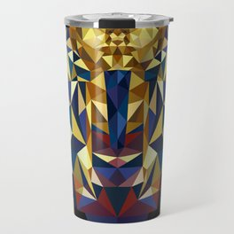 Golden Tutankhamun - Pharaoh's Mask Travel Mug