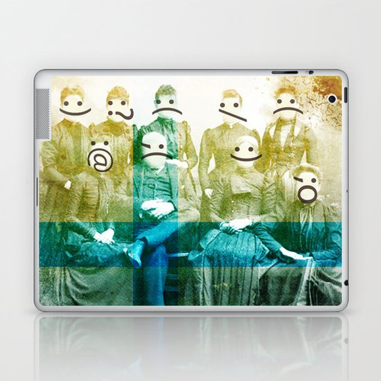the semicolon sisters Laptop & iPad Skin