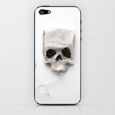 253. Tea Bag Skull iPhone & iPod Skin