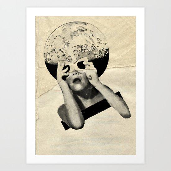 FERAL  Art Print