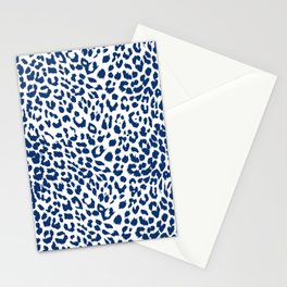 Light Leopard Skin Stationery Cards