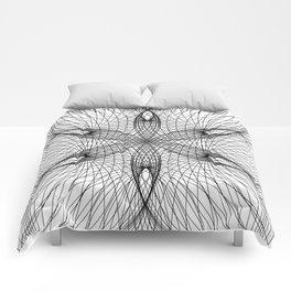 Sacred Geometry Flower - C11281 Comforters