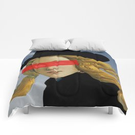 Das Mädchen mit dem Hut Comforters