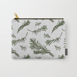 Rosemary rustic pattern Carry-All Pouch