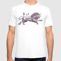 Be Not Afraid Mens Fitted Tee White LARGE