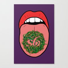 WORMS! Canvas Print
