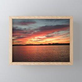Randy's Sunset Framed Mini Art Print