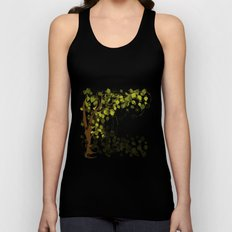 Jungle Swirls And Twirls Unisex Tank Top