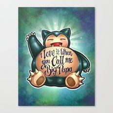 Big Papa! Canvas Print
