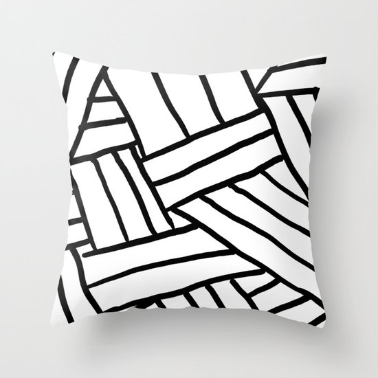 Raw Pattern Series: n.1 Throw Pillow