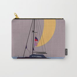 Boat in the middle of the night Carry-All Pouch