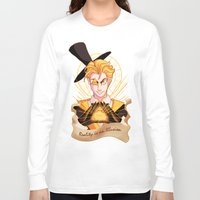 bill cipher Long Sleeve T-shirts featuring Mr. Cipher by Palolabg