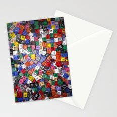 It is not the size of a person but the size of the heart that matters :) Stationery Cards