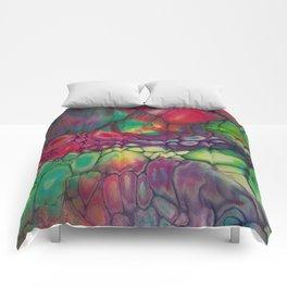 Fluid Color Comforters