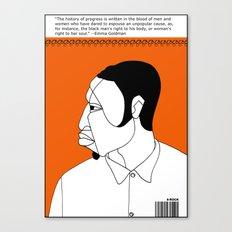 1001 Black Men--#44 Canvas Print