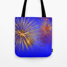 Pyrotechnic Tote Bag