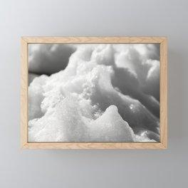Ocean Snow Framed Mini Art Print
