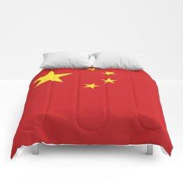China flag emblem Comforters