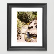 Ubon Ratchathani Thailand - Waterfalls II Framed Art Print