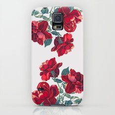 Red Roses Galaxy S5 Slim Case