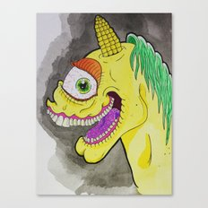 Unicorniclops Canvas Print