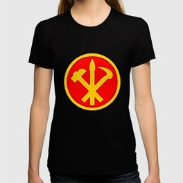 Workers Party of Korea emblem symbol T-shirt