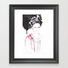 Watercolor illustrations Framed Art Print