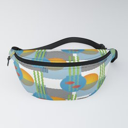 Peace Within and Without Pattern Fanny Pack